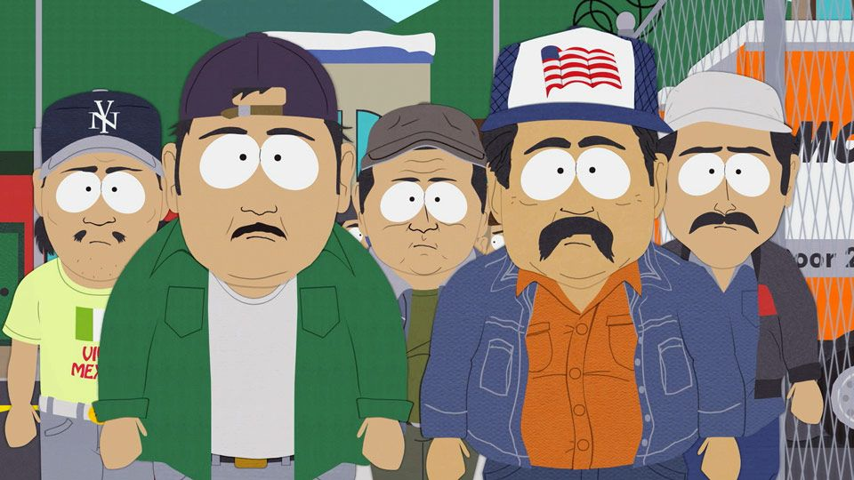 south park essay mexicans South park easter eggs when cartman asks the mexicans to do the essay on the book look at the one in fronthe is joeseph menciafrom mind of mencia.
