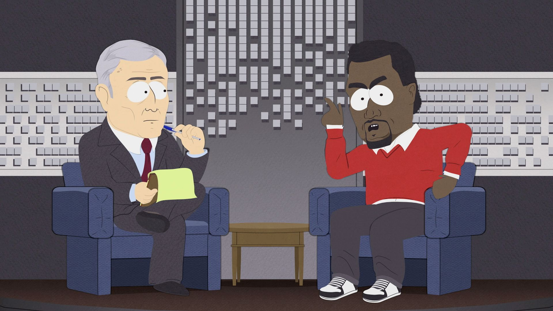 South Park Kanye West Gay Fish