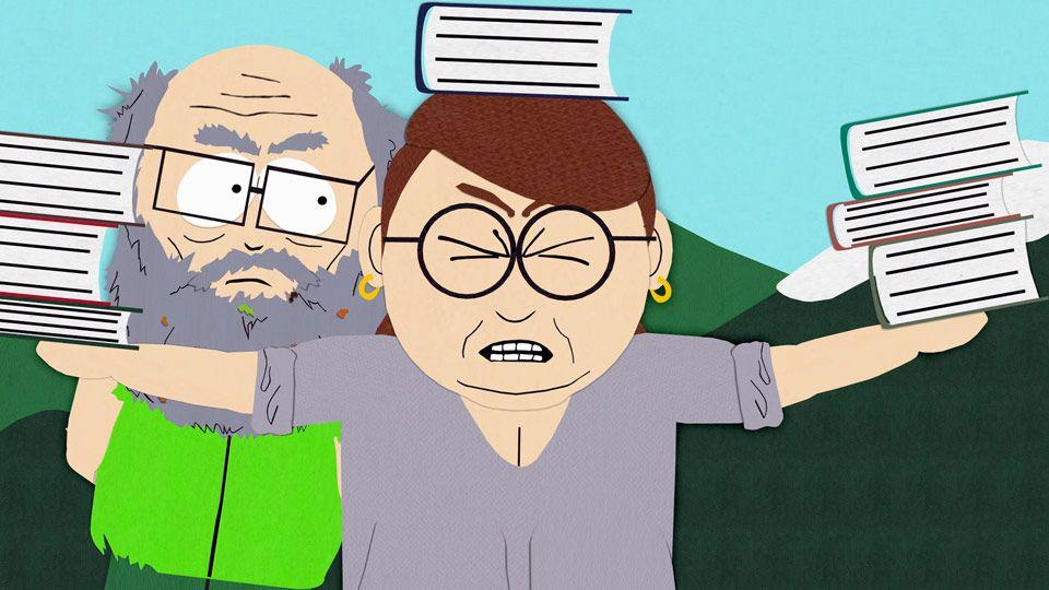 South Park Lehrer